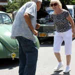Buddy of Salt Point and Barbara from Hyde Park dance to the 60's music