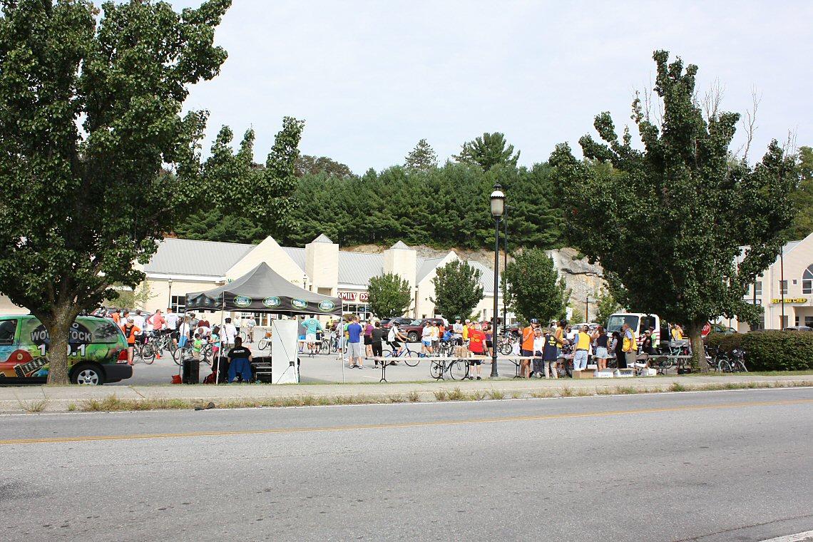 PV Lions sponsor the 10 mile Bike-A-Thon