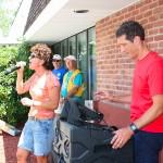 Terri singing Karaoke