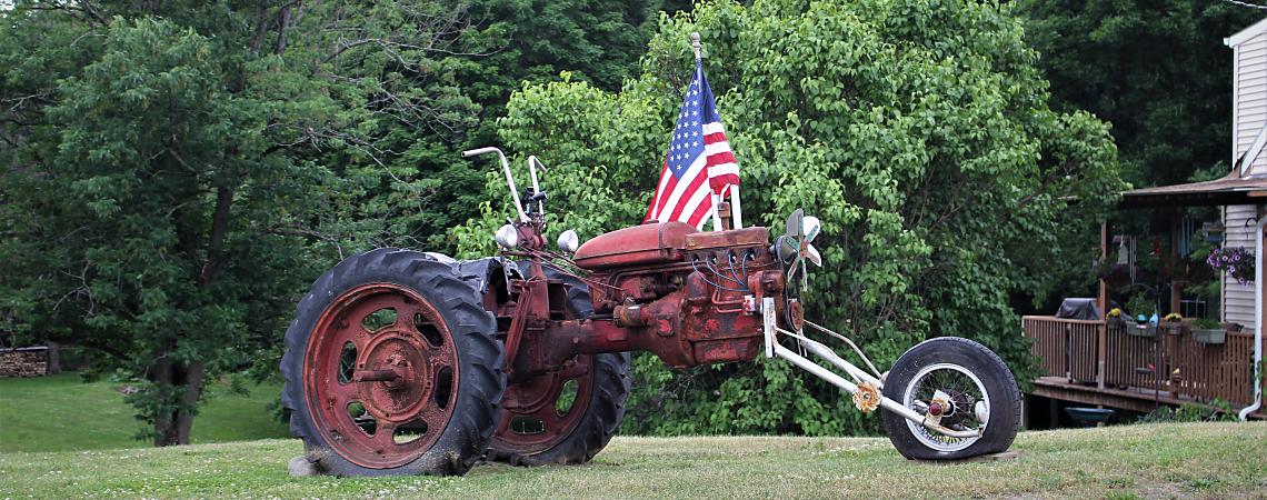 Salt Point Tractor