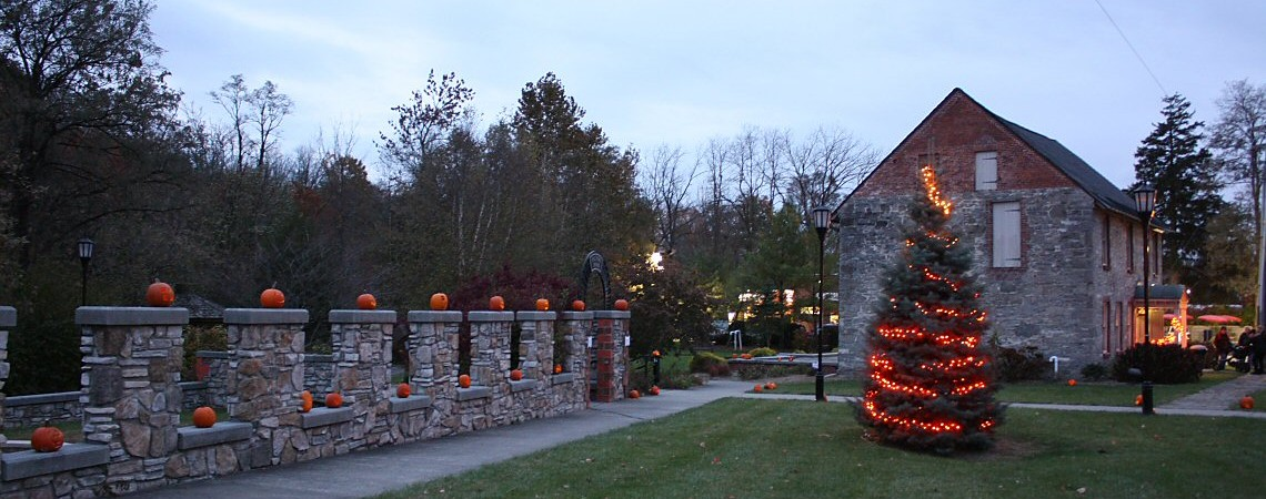 Pumpkin Walk at the Mill Site