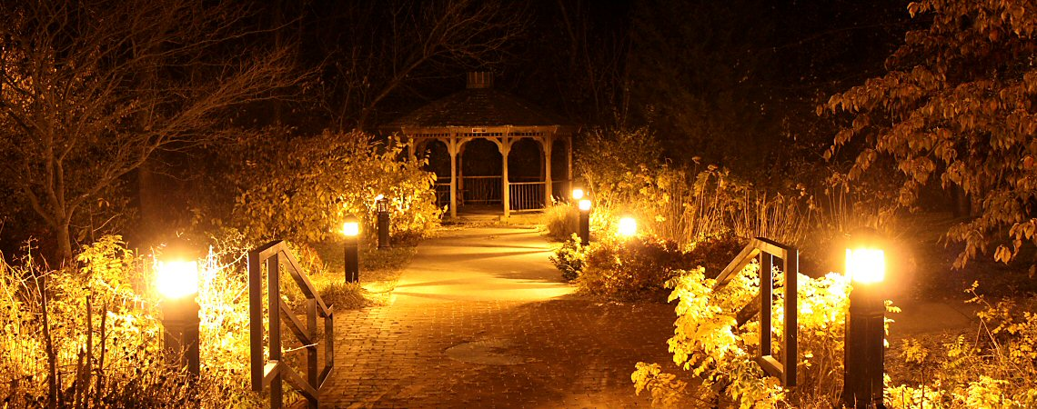 The glow of the Gazebo