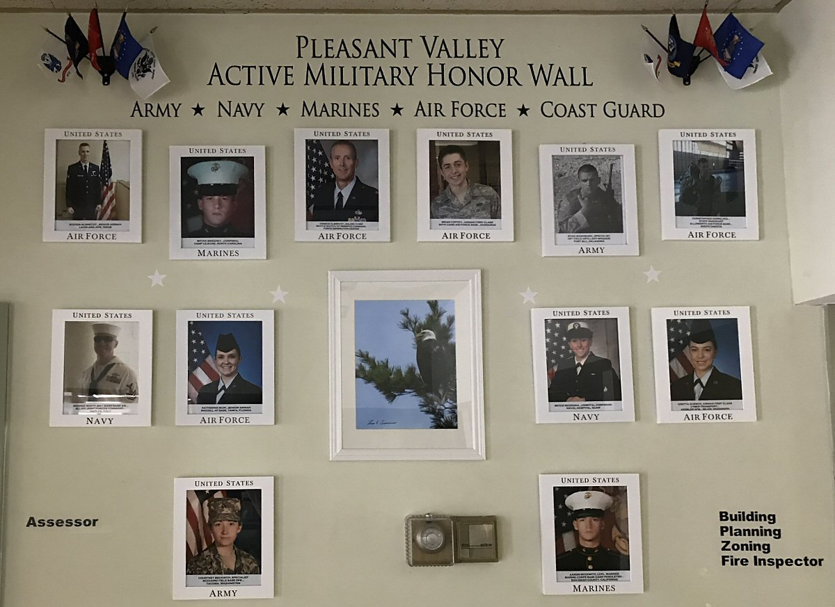 Military Honor Wall